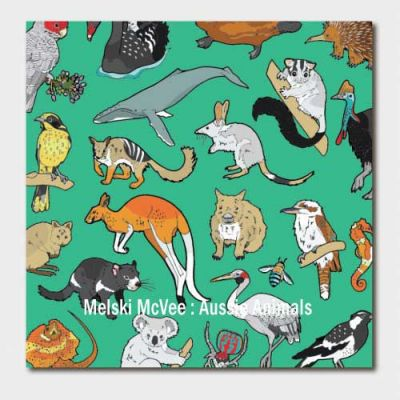 Greetings card - Aussie Animals