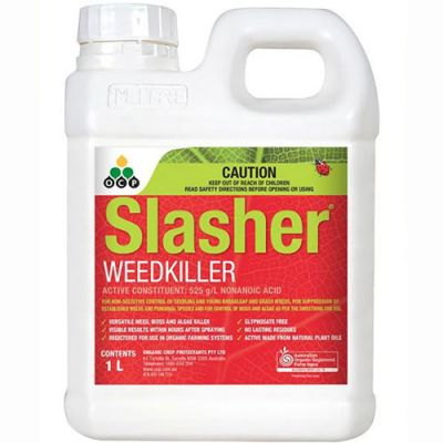 Slasher 1L - eco-organic weedkiller