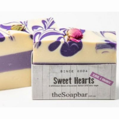 Sweet Hearts soap